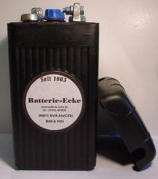 00811 Oldtimer Motorradbatterie 6V/8 Ah